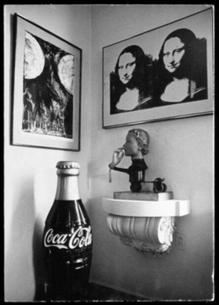 Dennis Hopper, 'Hopper House at 1712, Living Room, Mona Lisa', 1965