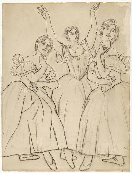 Pablo Picasso, 'Trois danseuses'