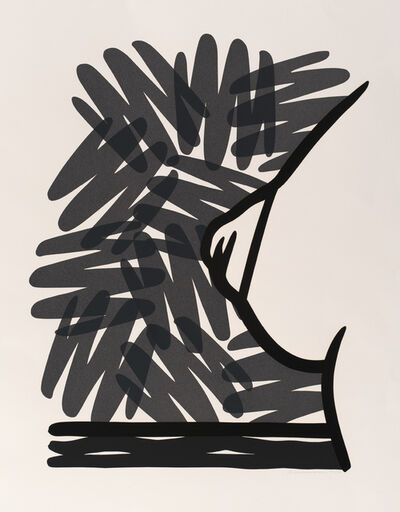 Tom Wesselmann, 'Seascape Tit with Scribble', 1991