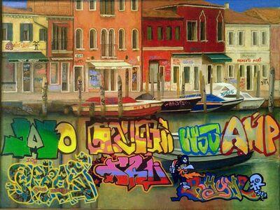 Julia Malinina, 'Project Transformation of Graffiti. № 3 Memento mori. ', 2011-2014