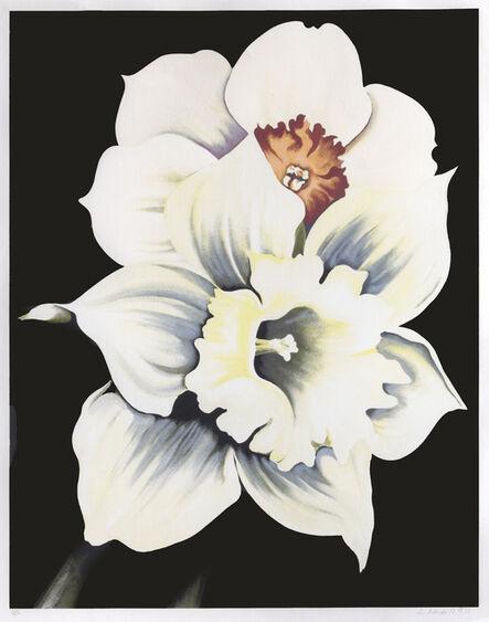 Lowell Nesbitt, 'Two White Flowers', 1978