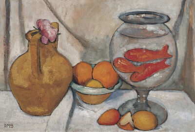 Paula Modersohn-Becker, 'Stilleben mit Goldfischglas (Still Life with Goldfish Bowl) ', May/June 1906