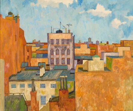 Easton Pribble, 'Jones Street, NYC', 1958