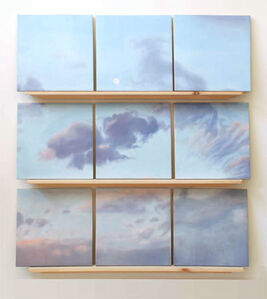 Barbara Broughel, 'Broken Sky: (Delft Clouds)', 2007