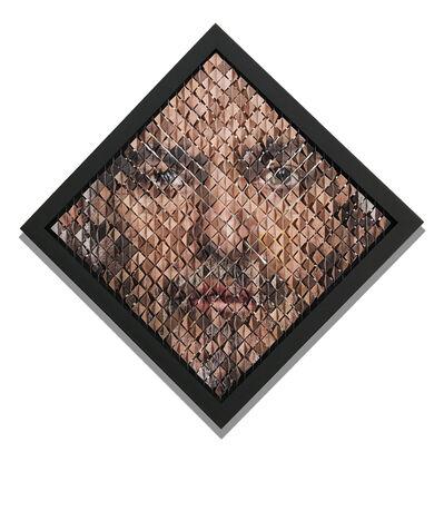 Pablo Boneu, 'Retrato aleatorio masculino', 2020