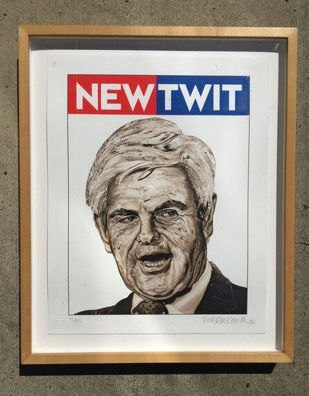 Robbie Conal, 'NEWTWIT', 1995