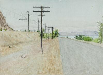 Hagop Hagopian, 'To Lake Sevan', 1986