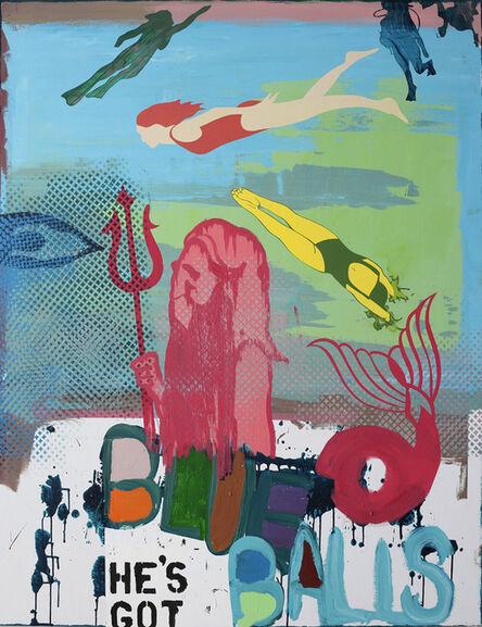 Michael Bevilacqua, 'He's got blue balls', 2008