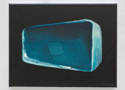 Andrei Roiter, 'Blue + Black', 2020