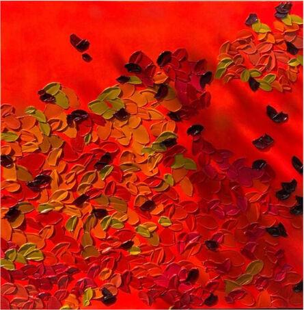 "Ana D' Castro, '""Papoila"" (""Poppies""); Montage', 2021"