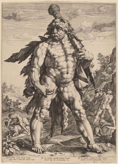 Hendrik Goltzius, 'The Great Hercules', 1589