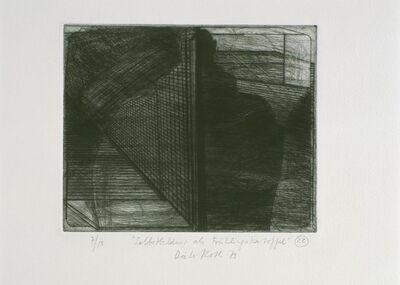Dieter Roth, 'Isländische Landschaft I (Icelandic Landscape I)', 1970