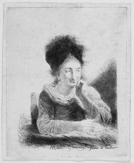 Jacques Gamelin, 'Madame Gamelin, Femme de l'Auteur (Portrait of the wife of the artist).', 1779