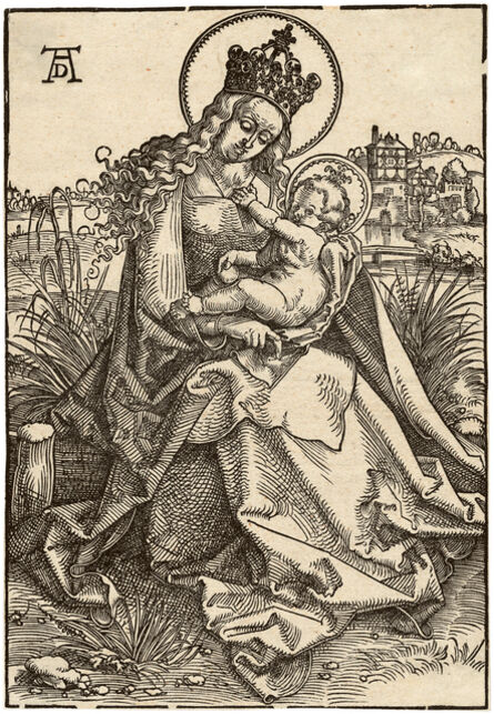 Hans Baldung Grien, 'Virgin and Child on a Grassy Bank', ca. 1505/07