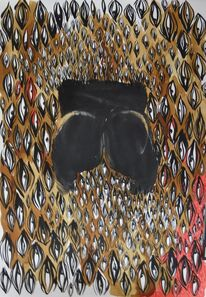 Lady Skollie, 'The artist booty print objectified by eyes and digital media', 2016