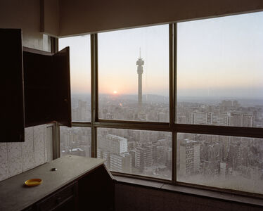 Mikhael Subotzky & Patrick Waterhouse, 'Sunset over Hillbrow, Ponte City', 2010