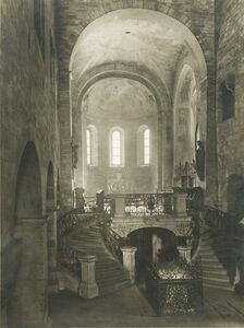 Jaromír Funke, 'Basilica of Saint George at Prague Castle, Interior', 1930s/1930s