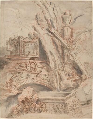 Giovanni Battista Piranesi, 'Grottesco with the Tomb of Nero', 1747