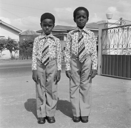 James Barnor, 'Kids dressed in identical suits, Accra, 1970s or 1980s  ', 2019