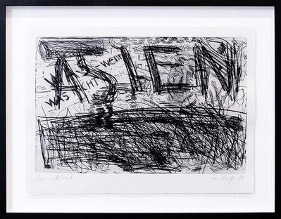 A.R. Penck, 'Asien', 1979