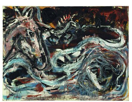 Anselm Kiefer, 'Ritt an die Weichsel', 1980