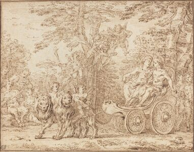 Claude Gillot, 'The Triumph of Marriage'