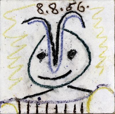 Pablo Picasso, 'Tête de faune', 1956