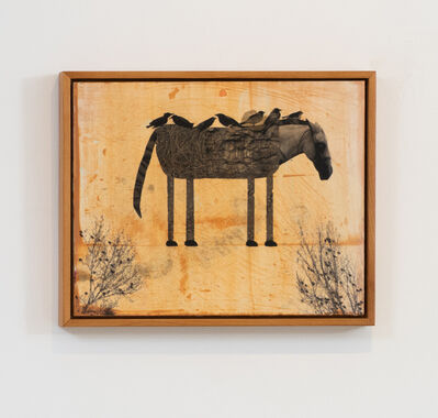Holly Roberts, 'Horse with Birds', 2019