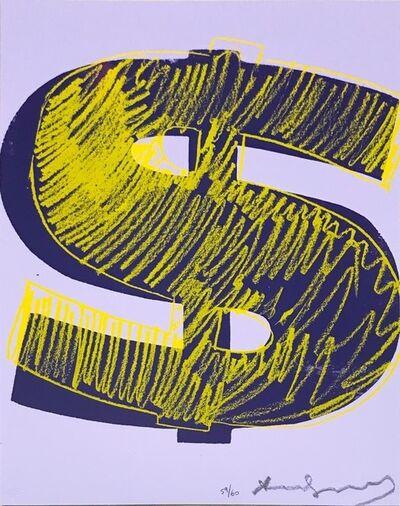 Andy Warhol, '(UNIQUE) Dollar Sign F&S.II.276', 1982