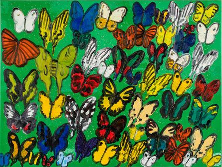 Hunt Slonem, 'Resin New Guinea Butterflies', 2021