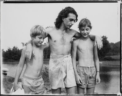 Danny Lyon, 'Guido with Noah + Raphe'