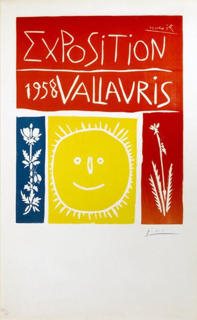 Pablo Picasso, 'Vallauris 1958 Exposition', 1958