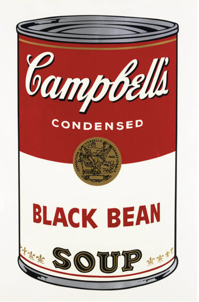 Andy Warhol, 'Campbell's Soup I: Black Bean (FS II.44)', 1968