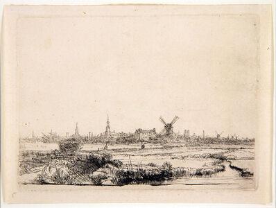 Rembrandt van Rijn, 'View on Amsterdam', 1640