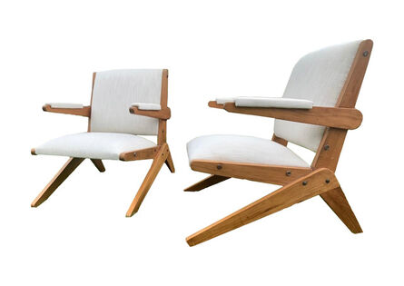 Lina Bo Bardi, 'Pair of chairs by Lina Bo Bardi from the 1950's.', ca. 1950