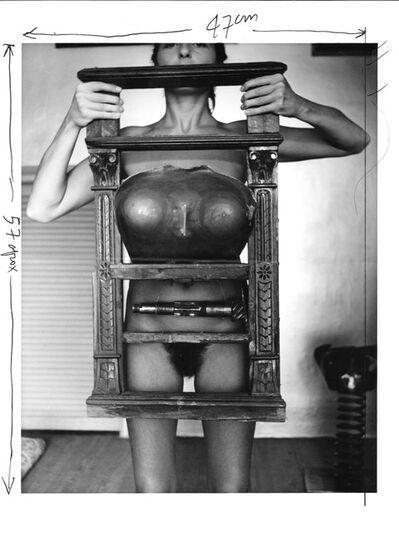 Liliana Maresca, 'Untitled. Liliana Maresca with her artworks', 1983