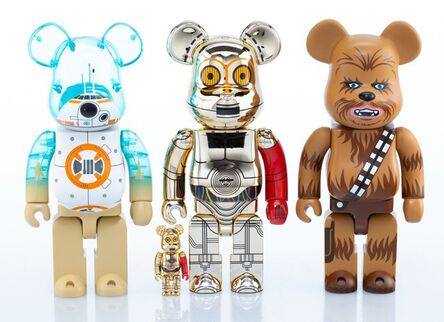 BE@RBRICK, 'Group of Three Star Wars 400% and One 100% Be@rbrick', 2016-17