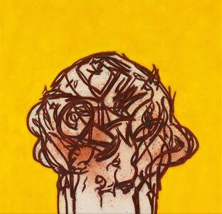 Tony Bevan, 'Head', 2020