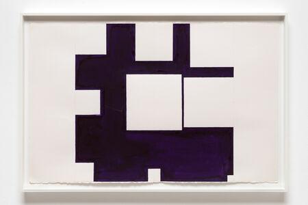 Paul Mogensen, 'no title (violet, watercolor)', 2016