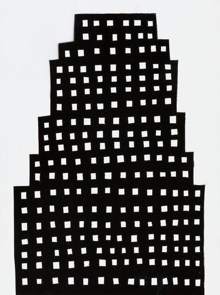 William Carroll, 'NIGHT BUILDING 13', 2018