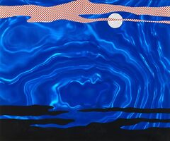 Roy Lichtenstein, 'Moonscape from 11 Pop Artists I', 1965