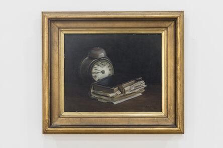 Johan Bladh, 'Bok och klocka / Book and Clock', 1930