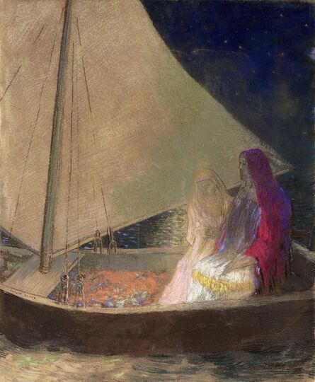 Odilon Redon, 'La Barque (The Boat)', ca. 1902