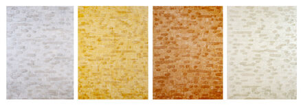 Pegan Brooke, 'S-278 / S-279 / S-280 / S-281 (Polyptych)', 2020