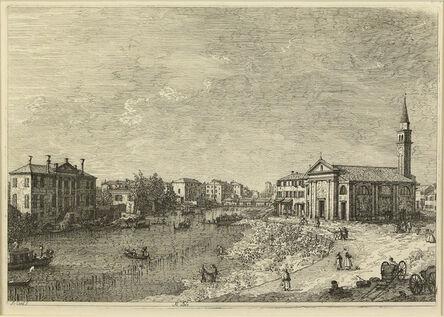 ANTONIO CANAL called CANALETTO, 'Al Dolo.', ca. 1740