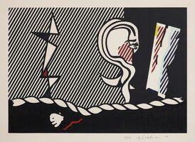 Roy Lichtenstein, 'Figures with Rope, from Surrealist Series', 1978