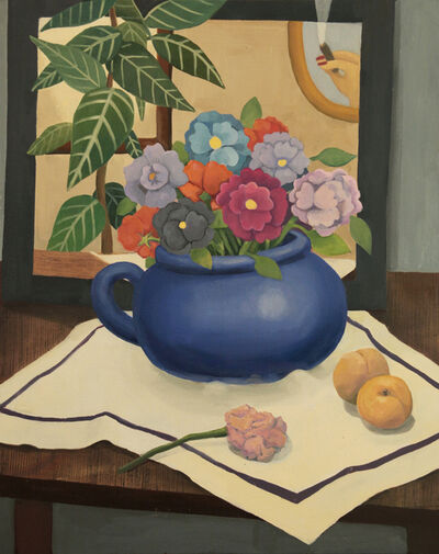 GaHee Park, 'Still Life with Flowers and Apricots '