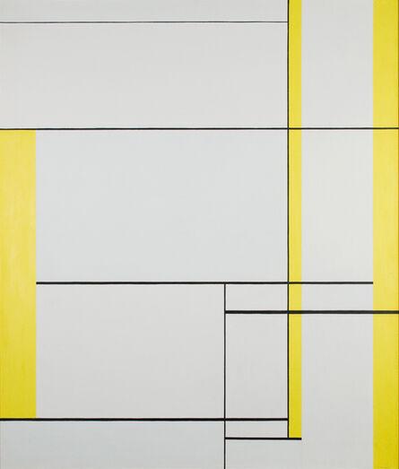 Ilya Bolotowsky, 'Yellow Lines', 1960