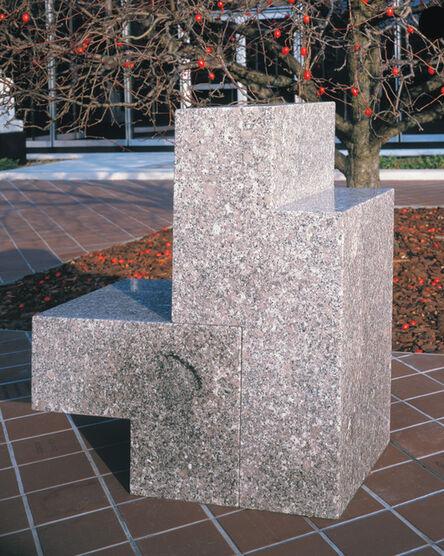 Scott Burton, 'Two-Part Chair', 1986