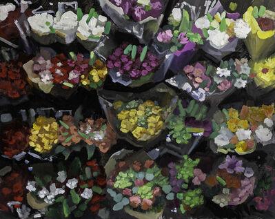 James Zamora, 'Floral Aisle No 2', 2019